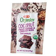 H-E-B Organics Dark Chocolate Coconut Palm Sugar & Cacao Nibs