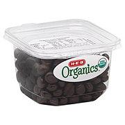 H-E-B Organics Dark Chocolate Espresso Beans