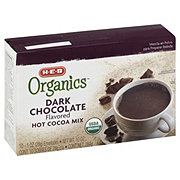 H-E-B Organics Dark Chocolate Hot Cocoa Mix