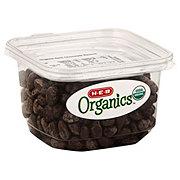 H-E-B Organics Dark Chocolate Raisins