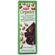 H-E-B Organics Dark Chocolate with Whole Pistachios