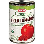 H-E-B Organics Diced Tomatoes