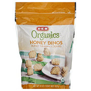 H-E-B Organics Dino Honey Graham Cookies