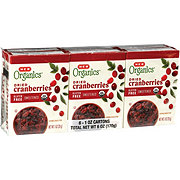 H-E-B Organics Dried Cranberries 6 CT