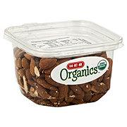 H-E-B Organics Dry Roasted Almonds, Unsalted