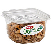 H-E-B Organics Dry Roasted Cashews, Salted