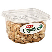 H-E-B Organics Dry Roasted Cashews, Unsalted