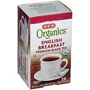 H-E-B Organics English Breakfast Tea
