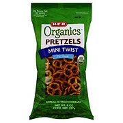 H-E-B Organics Fat Free Mini Twist Pretzels