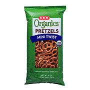 H-E-B Organics Fat Free Mini Twist Pretzels