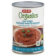H-E-B Organics Fat Free Refried Pinto Beans