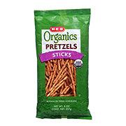 H-E-B Organics Fat Free Sticks Pretzels