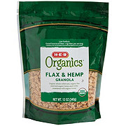 H-E-B Organics Flax & Hemp Granola