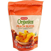 H-E-B Organics Frozen Peach Slices