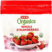 H-E-B Organics Frozen Whole Strawberries