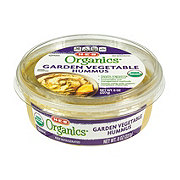 H-E-B Organics Garden Vegetable Hummus