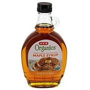 H-E-B Organics Grade A Medium Amber Maple Syrup