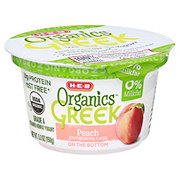 H-E-B Organics Greek Yogurt Peach