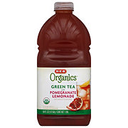 H-E-B Organics Green Tea with Pomegranate Lemonade