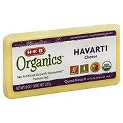 H-E-B Organics Havarti Chunk Cheese