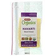 H-E-B Organics Havarti Sliced Cheese