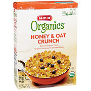 H-E-B Organics Honey & Oat Crunch Cereal
