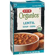 H-E-B Organics Lentil Soup