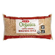 H-E-B Organics Long Grain Brown Rice
