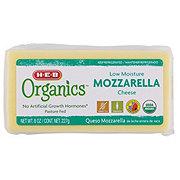 H-E-B Organics Low Moisture Mozzarella Cheese