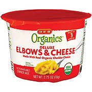 H-E-B Organics Macaroni Elbows and Cheese Cup