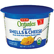 H-E-B Organics Macaroni Shells and Cheese Cups