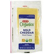 H-E-B Organics Mild Cheddar Slice Cheese