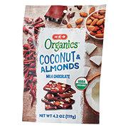 H-E-B Organics Milk Chocolate Coconut & Almonds