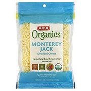 H-E-B Organics Monterey Jack Shreds