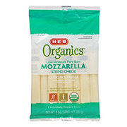 H-E-B Organics Mozzarella Sticks