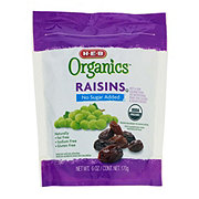 H-E-B Organics No Sugar Added Raisins