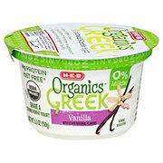 H-E-B Organics Non-Fat Vanilla Greek Yogurt