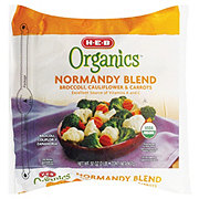 H-E-B Organics Normandy Blend Broccoli, Cauliflower & Carrots