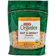 H-E-B Organics Oat & Honey Granola