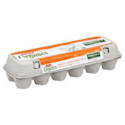 H-E-B Organics Omega-3 Large Brown Eggs