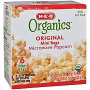 H-E-B Organics Original Microwave Popcorn Mini Bags