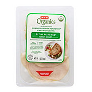 H-E-B Organics Oven Roasted Turkey Breast Slices