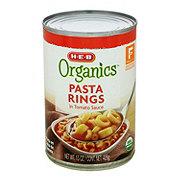 H-E-B Organics Pasta Rings in Sauce