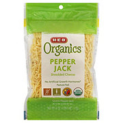 H-E-B Organics Pepper Jack Shredded Cheese