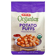 H-E-B Organics Potato Puffs Fried Potatoes