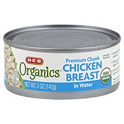 H-E-B Organics Premium Chunk Chicken Breast In Water
