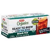 H-E-B Organics Ready to Brew Decaf Black Tea