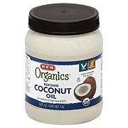 H-E-B Organics Refined Coconut Oil