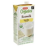 H-E-B Organics Rice Milk, Vanilla