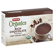 H-E-B Organics Rich Chocolate Hot Cocoa Mix